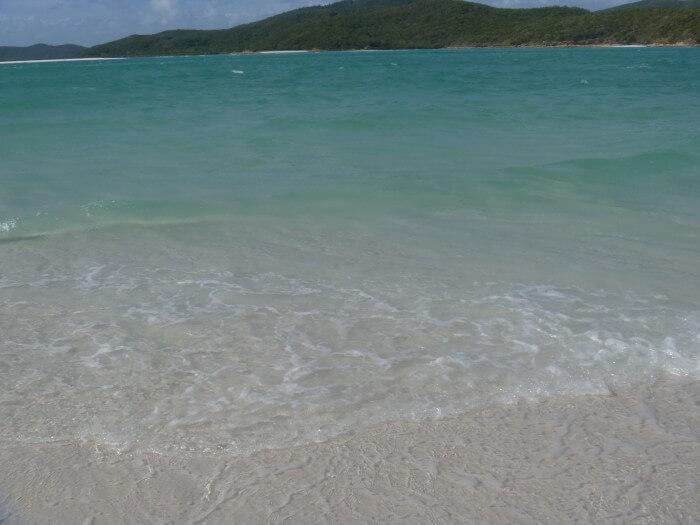 La magnifique whitsunday beach