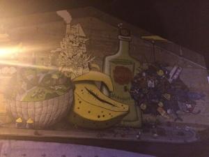 Street art nuit du VAN