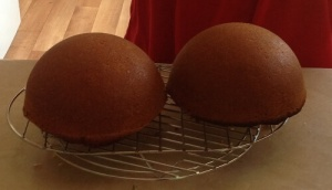 Gâteau demi sphere