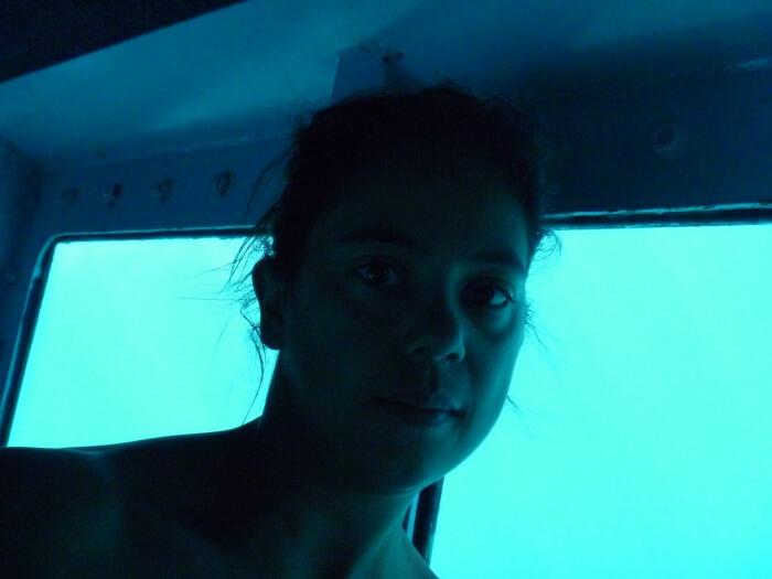 Bateau à fond de verre - Grande Barrière de Corail - Australie