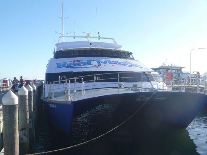 Bateau - Grand barrière de Corail - Australie