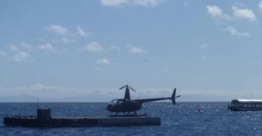Hélicoptère - Grande Barrière de Coraiol - Australie