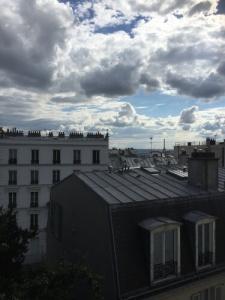 La tour Eiffel vue de Montmartre