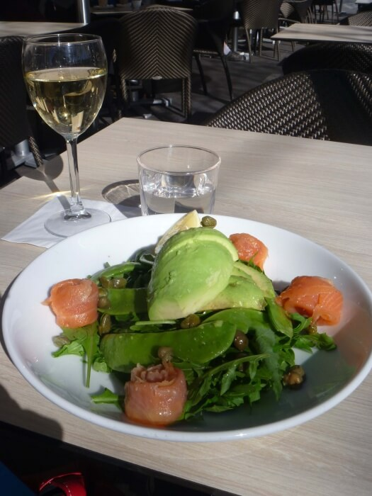 Salade - Nouvel an - Sydney - Australie