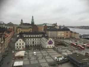 Stockholm vue d'en haut