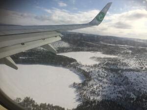 Arrivée en Laponie