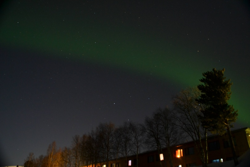 Aurore boréale - Laponie Finlandaise