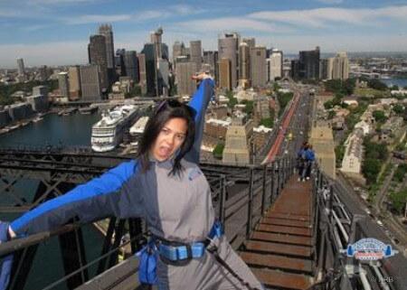 Ascension de l'harbour bridge - Sydney - Australie