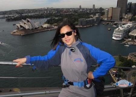 Vue de l'harbour bridge - Sydney - Australie