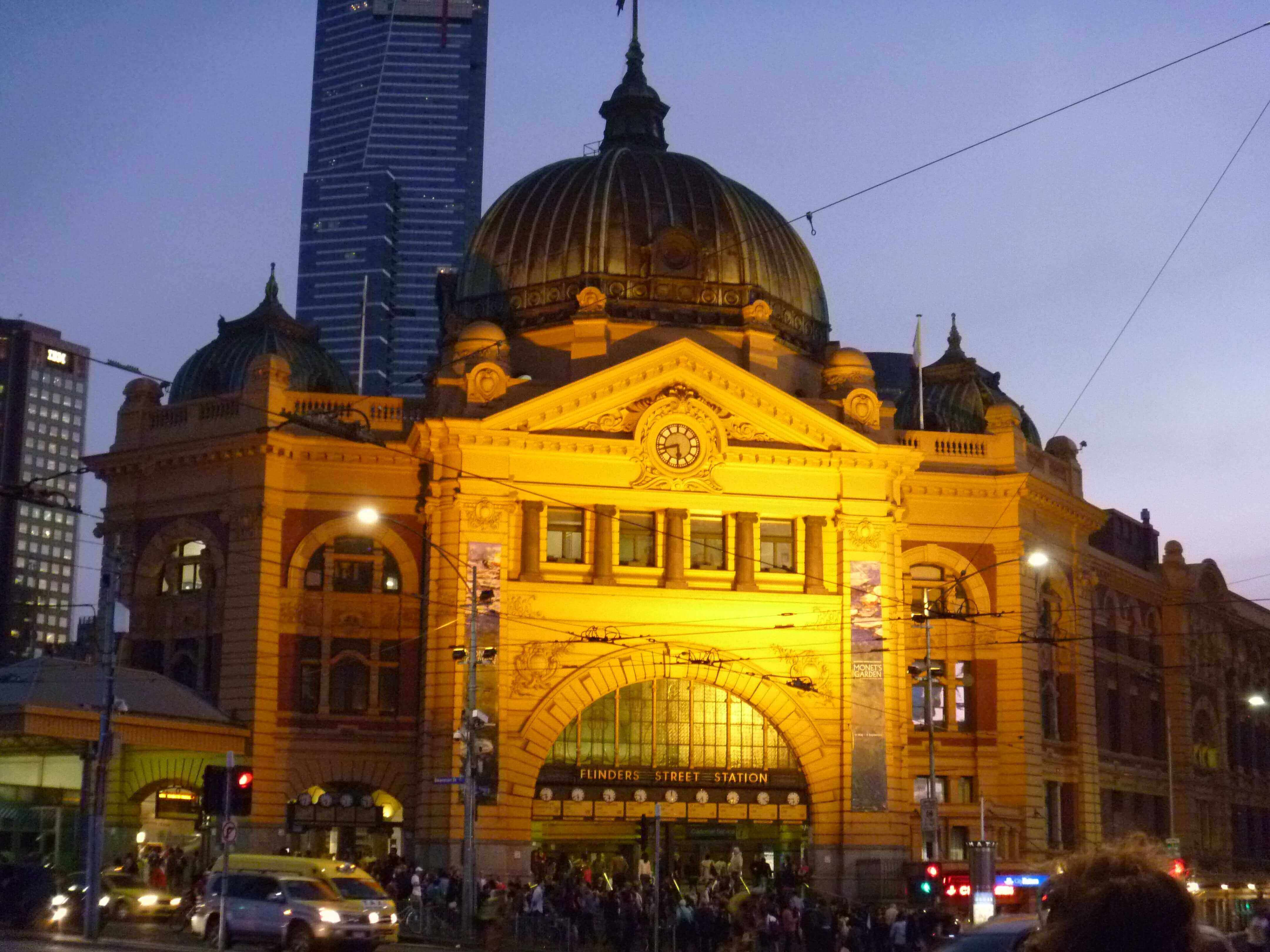 Station Metro - Melbourne - Australie