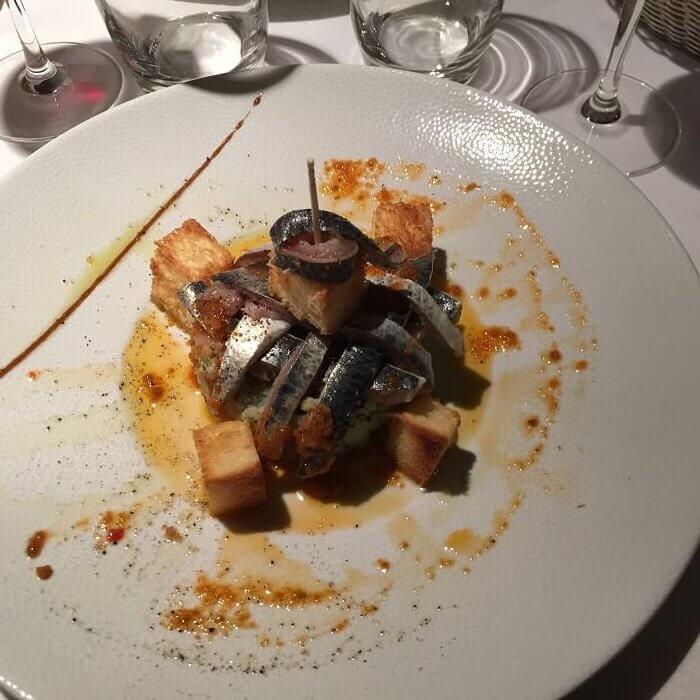Entrée - Restaurant Le Saint sauveur - Rennes