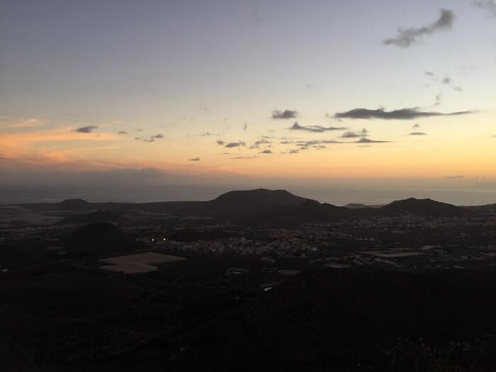 Coucher de soleil - Tenerife - Iles Canaries